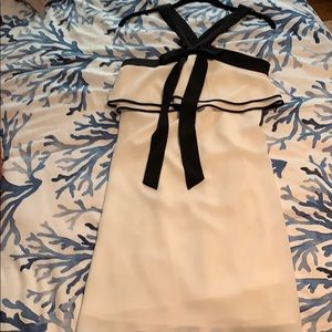White and black CeCe dress. Size 4. NWT.